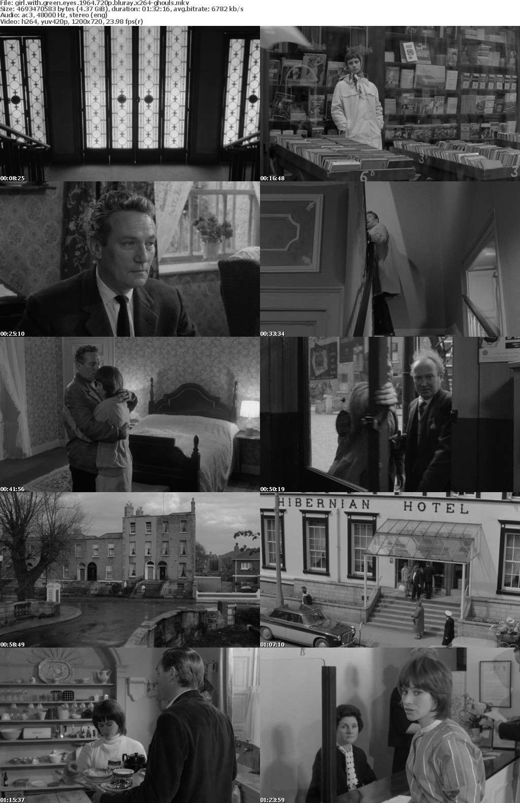 Girl with Green Eyes 1964 720p BluRay x264-GHOULS