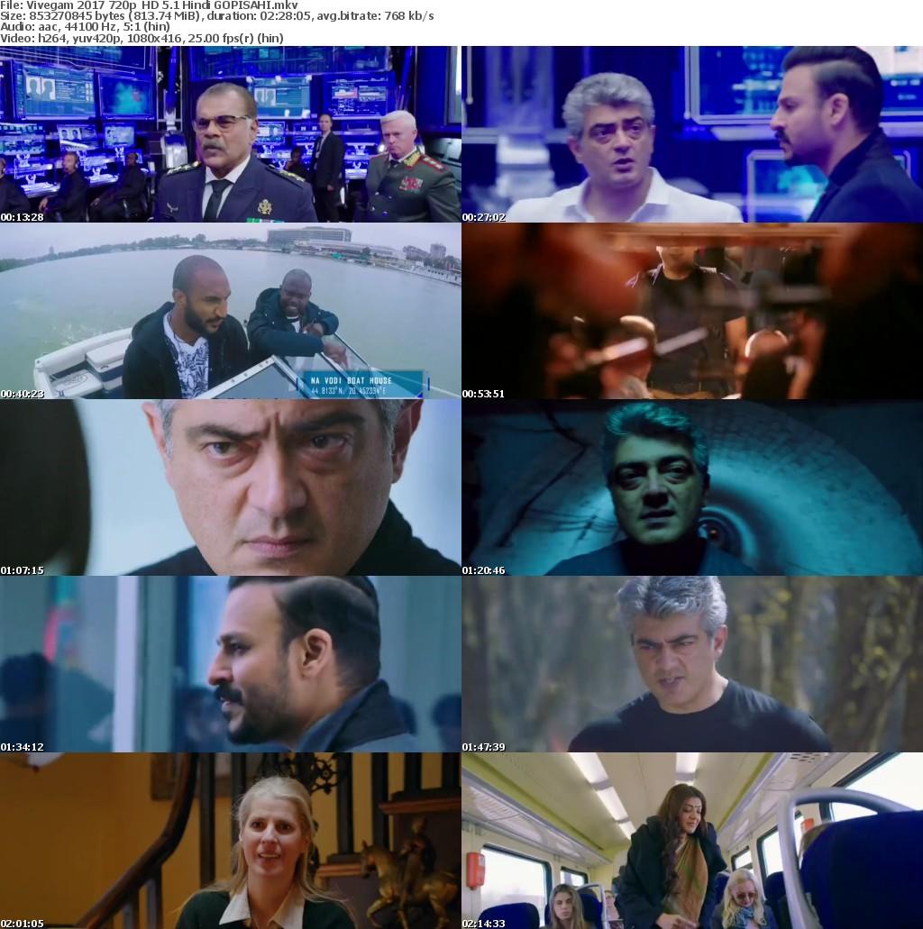 Vivegam 2017 720p HD Hindi GOPISAHI