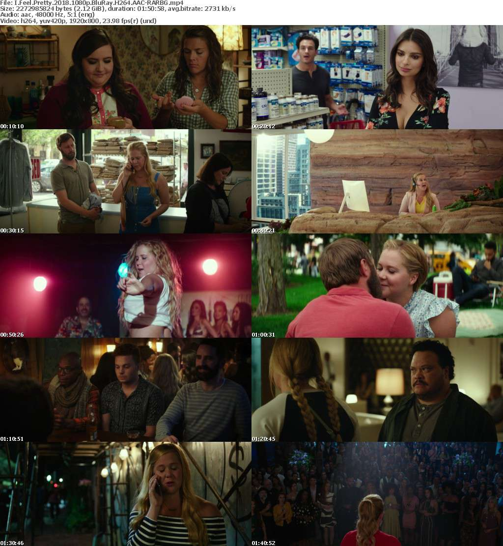I Feel Pretty 2018 1080p BluRay H264 AAC-RARBG