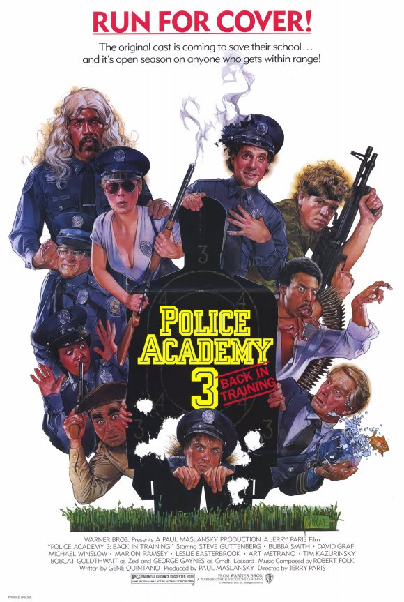 Police Academy 3 Back In Training (1986) 1080p-H264-AC 3 (DTS 5 1) Remastered nickarad