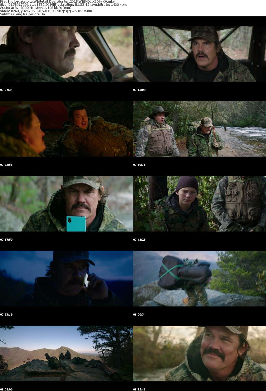 The Legacy of a Whitetail Deer Hunter (2018) WEB-DL x264-iKA