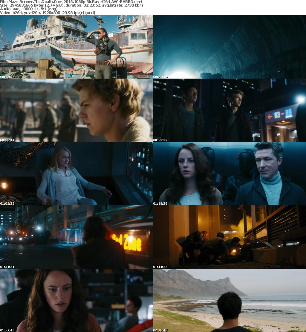 Maze Runner The Death Cure (2018) 1080p BluRay H264 AAC-RARBG