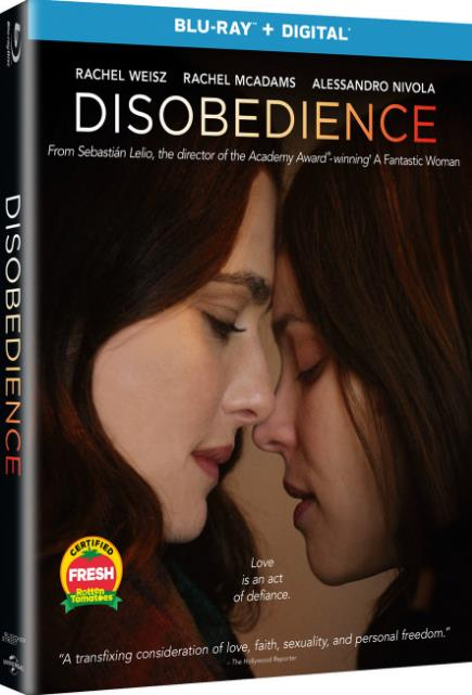 Disobedience (2017) 720p BluRay 6CH 950MB ESubs - MkvHub