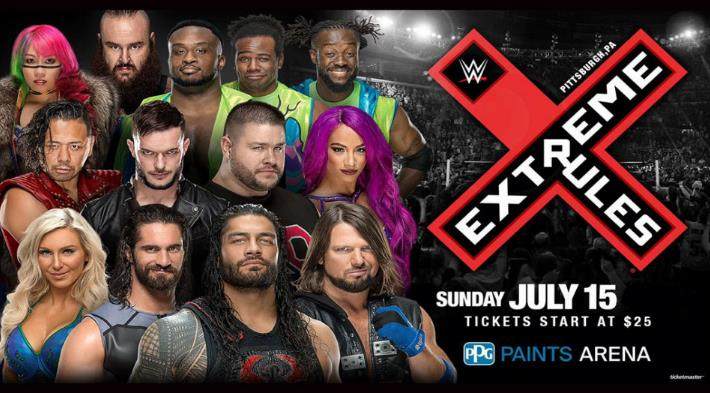 WWE Extreme Rules 15th July 2018 850MB PPV WEBRip 480p-DLW