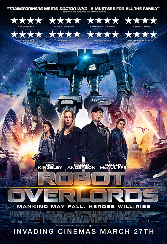Robot Overlords (2014) 720p BluRay x264 Dual Audio Hindi 2.0 - English 2.0 ESub MW