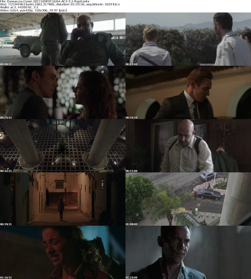 Damascus Cover 2017 HDRIP H264 AC3-5 1-RypS
