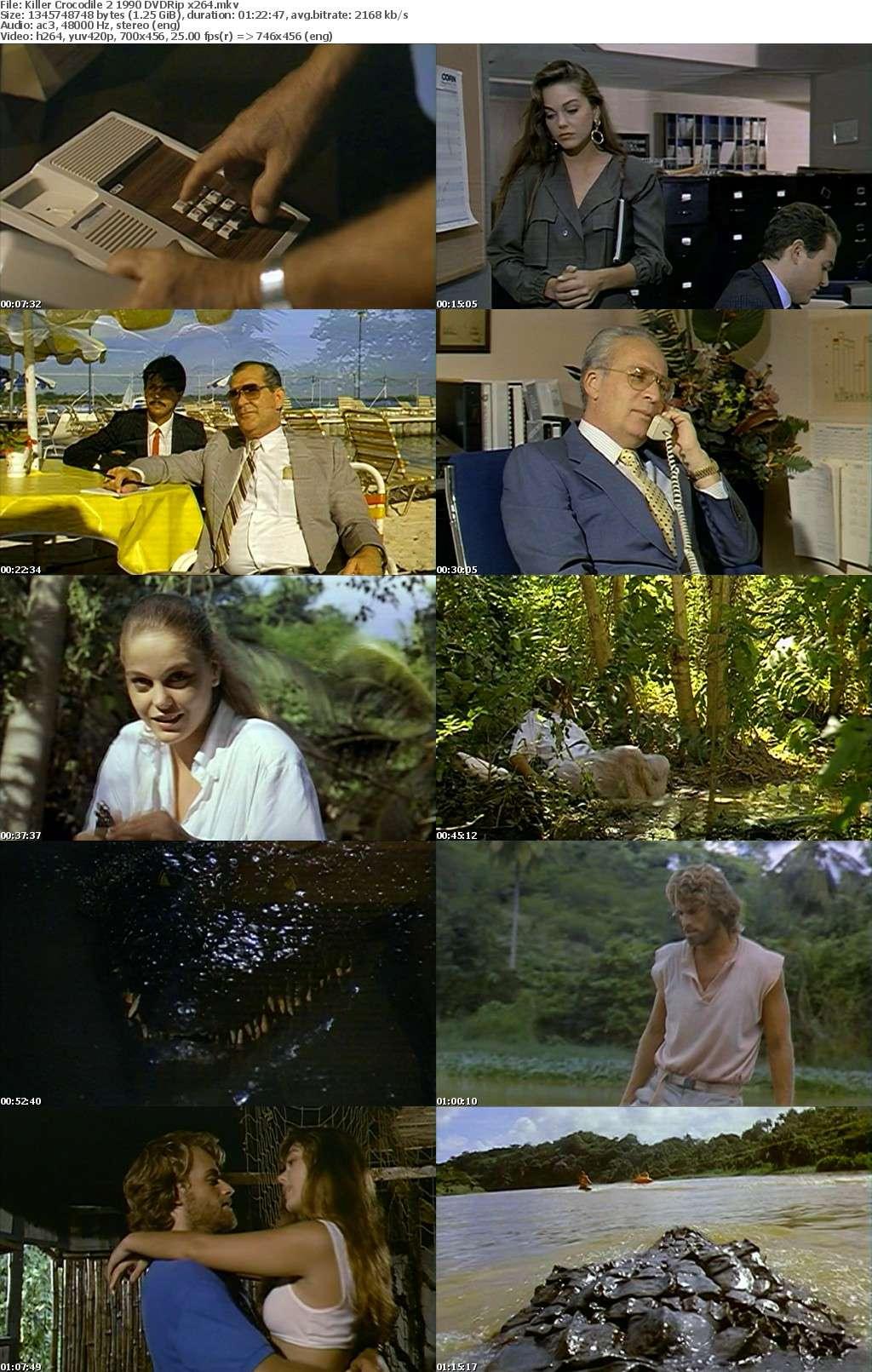 Killer Crocodile 2 1990 DVDRip x264