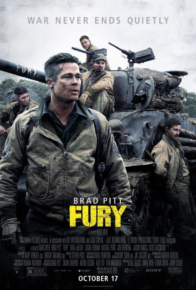 Fury (2014) [BluRay] [720p] YIFY