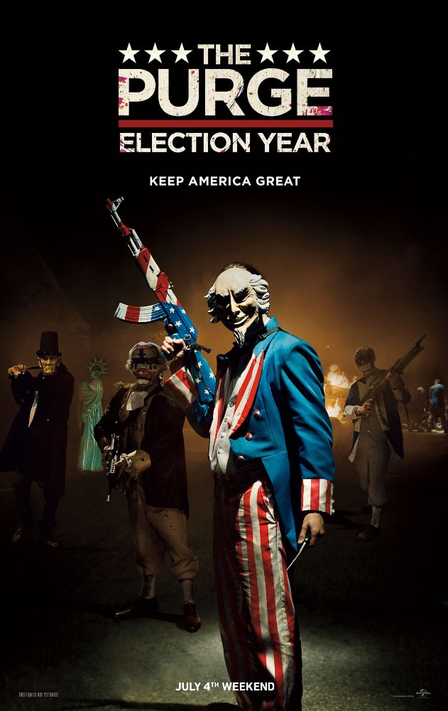 The Purge Election Year (2016) 1080p BluRay Dual Audio Org DD Hindi+Eng 6Ch -DOOMSDAY