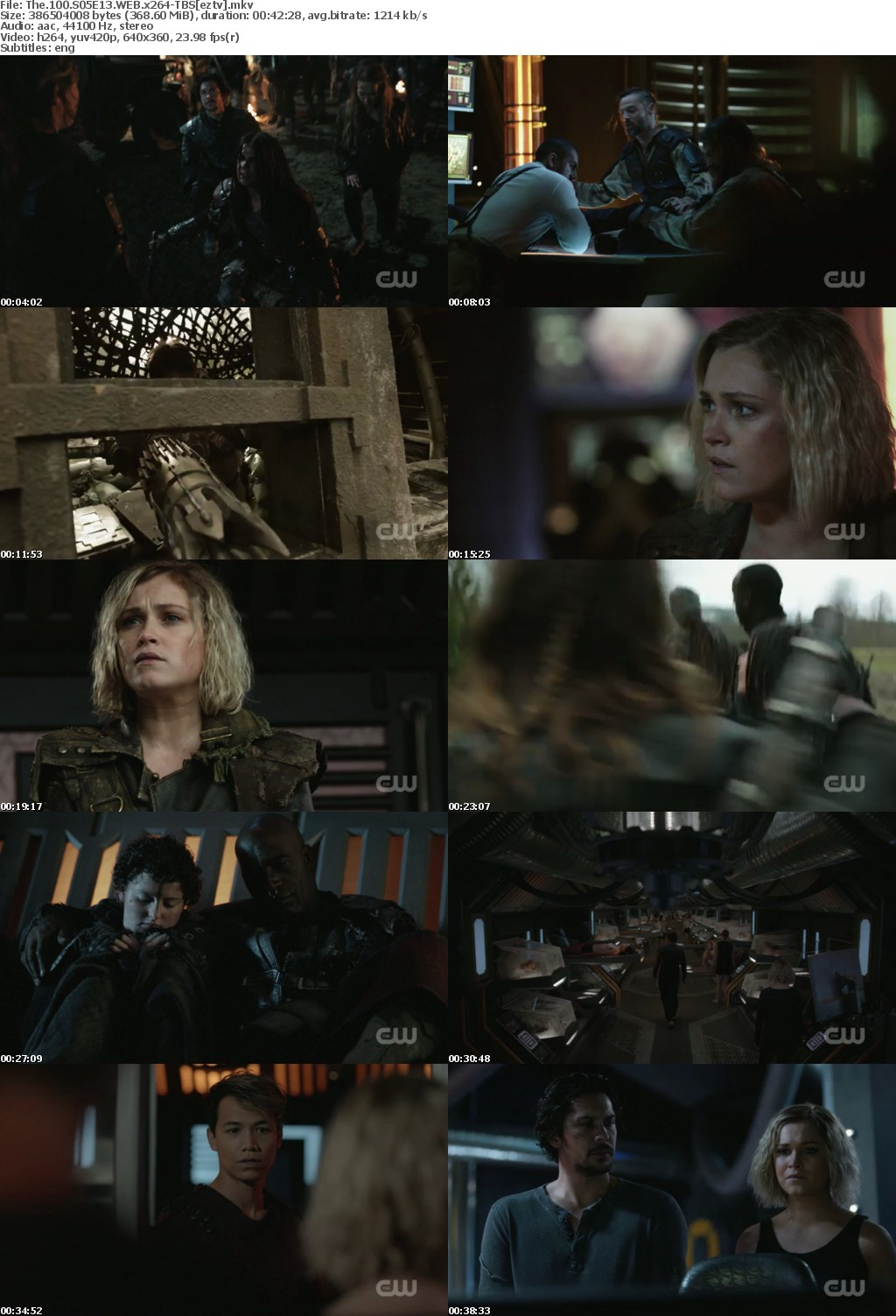 The 100 S05E13 WEB x264-TBS