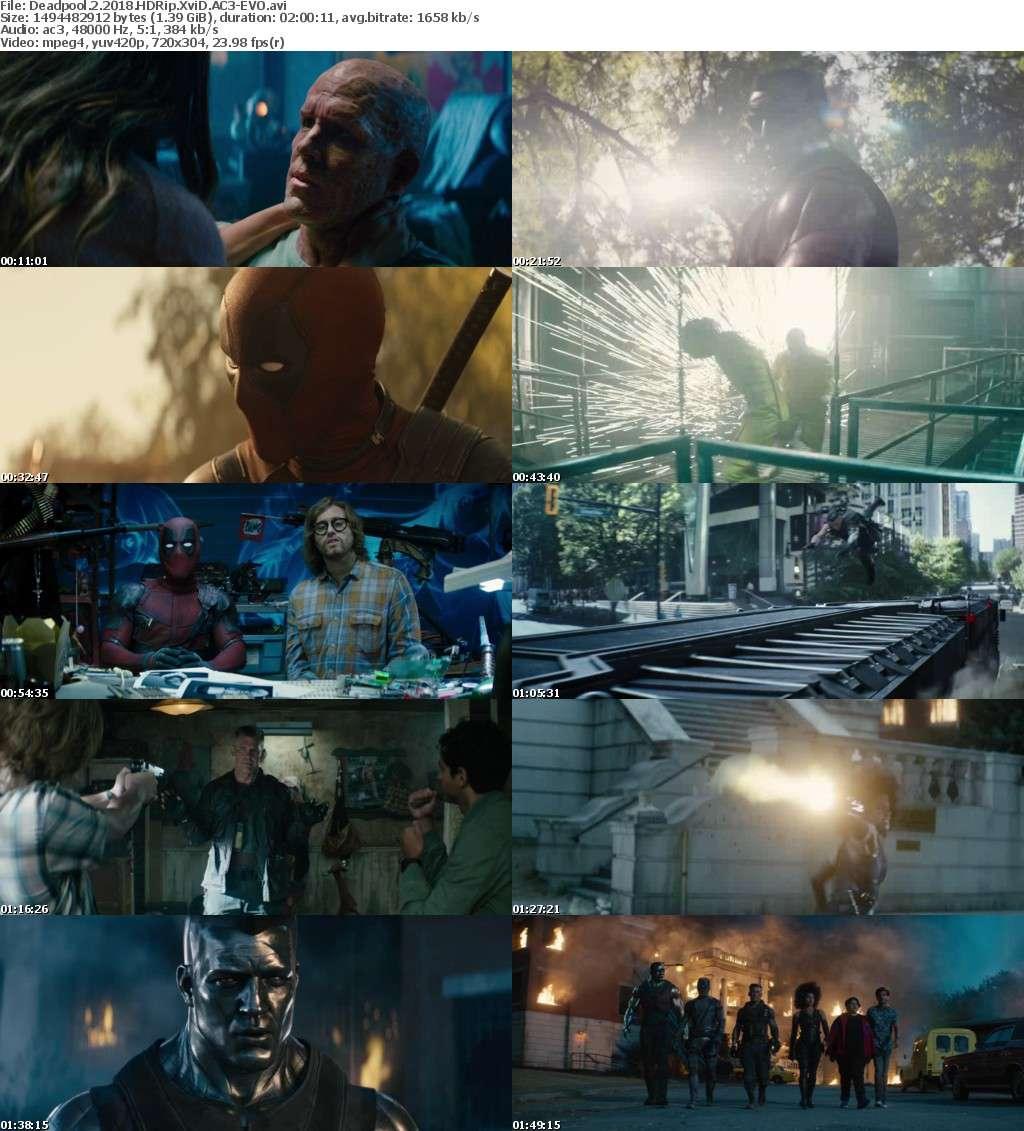Deadpool 2 2018 HDRip XviD AC3-EVO