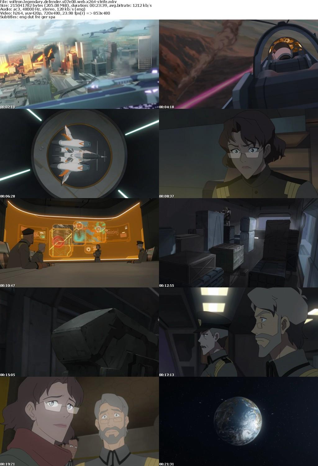 Voltron Legendary Defender S07E08 WEB x264-STRiFE
