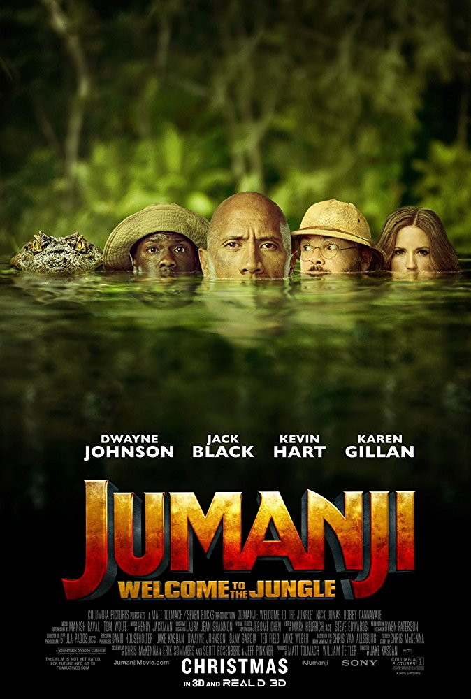 Jumanji Welcome To The Jungle (2017) 1080p Dual Audio Org DD Hindi+Eng 6Ch -~DOOMSDAY~-
