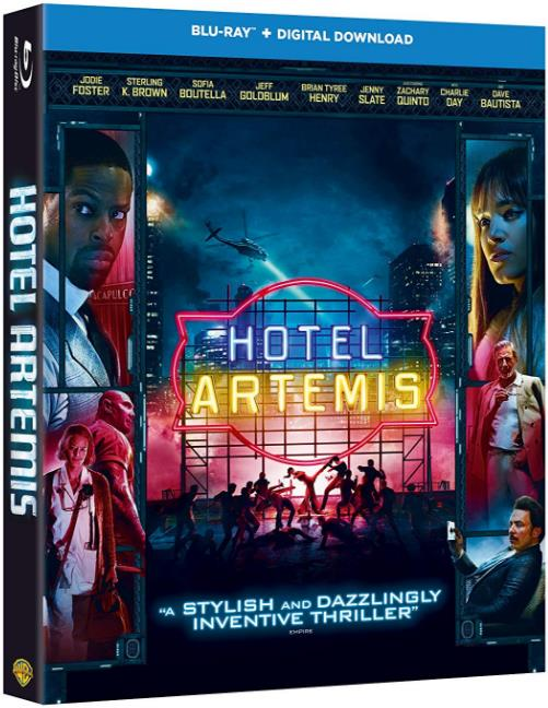 Hotel Artemis (2018) BRRip XviD-AVID