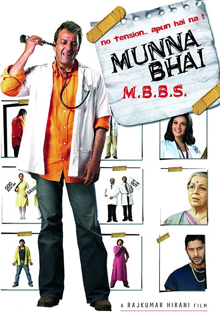 Munna Bhai M B B S 2003 WebRip Hindi 720p x264 ESub - mkvCinemas