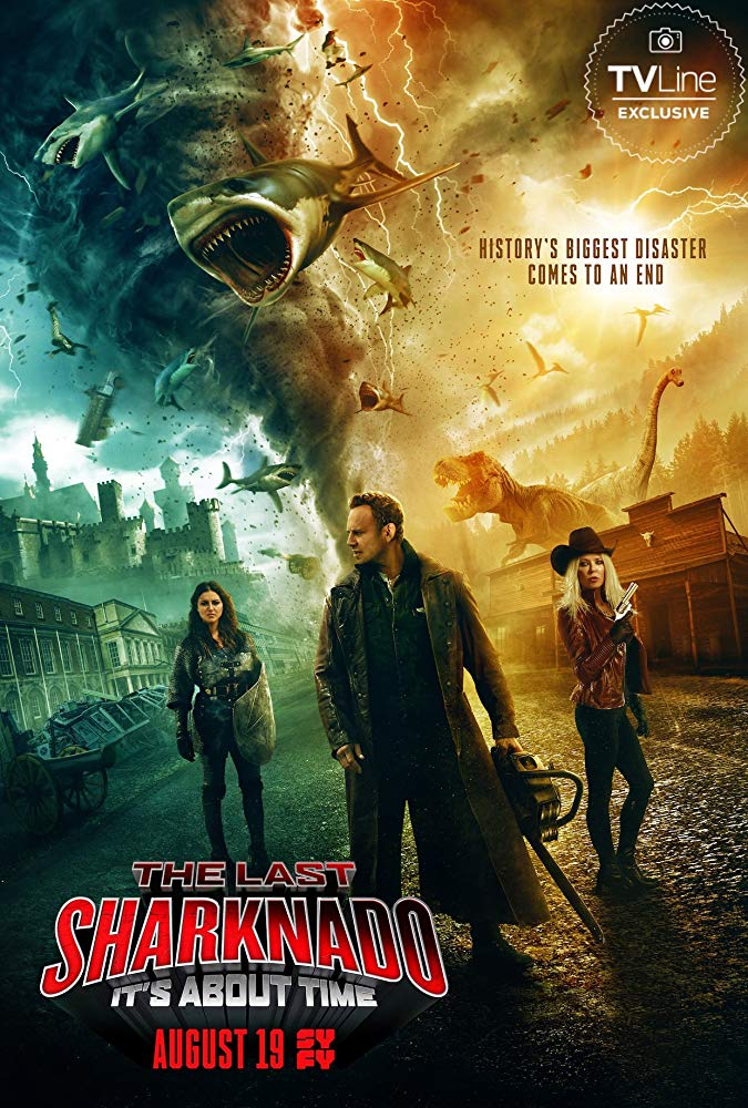 The Last Sharknado Its About Time 2018 HDRip x264 MW