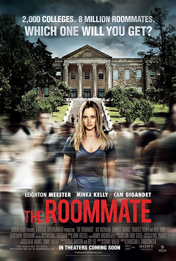 The Roommate (2011) 720p BluRay x264 Dual Audio Hindi 2.0 - English 2.0 ESub MW