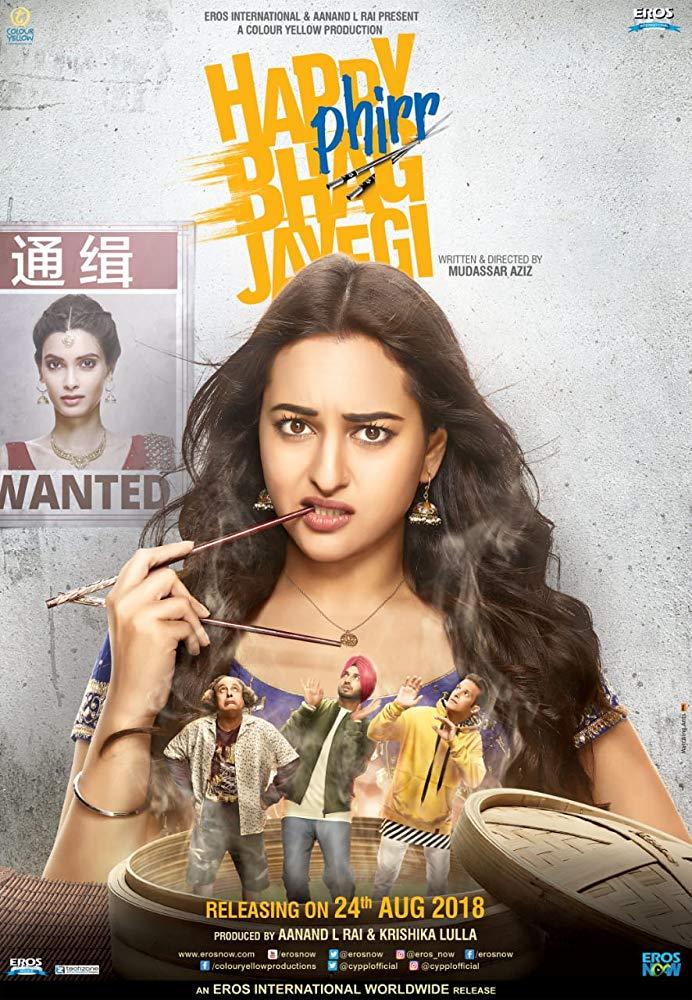 Happy Phirr Bhag Jayegi (2018) HQ PreDvDRip 720p Hindi H264 AAC - LatestHDMovies Exclusive mkv