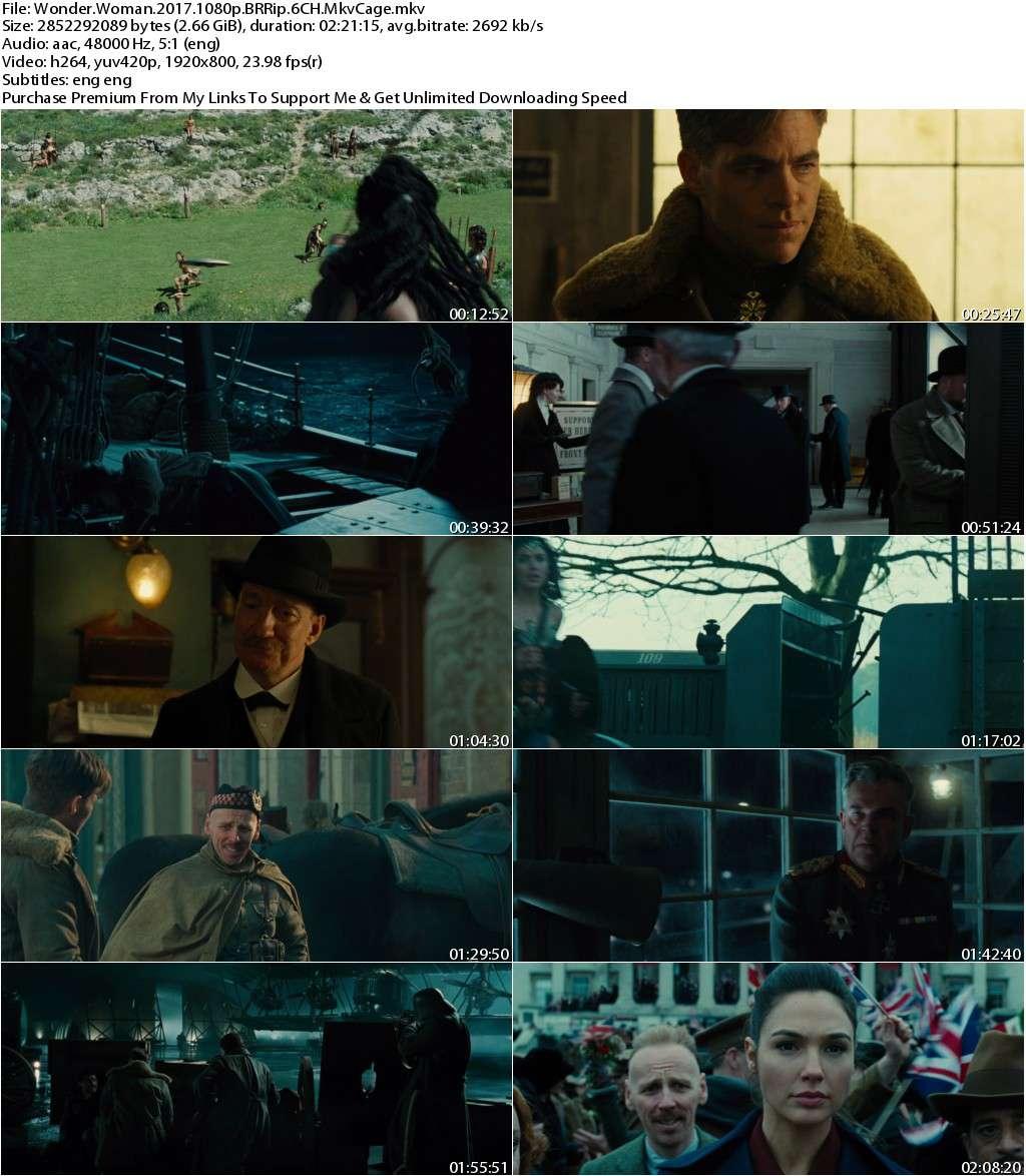 Wonder Woman (2017) 1080p BRRip x264 6CH-MkvCage