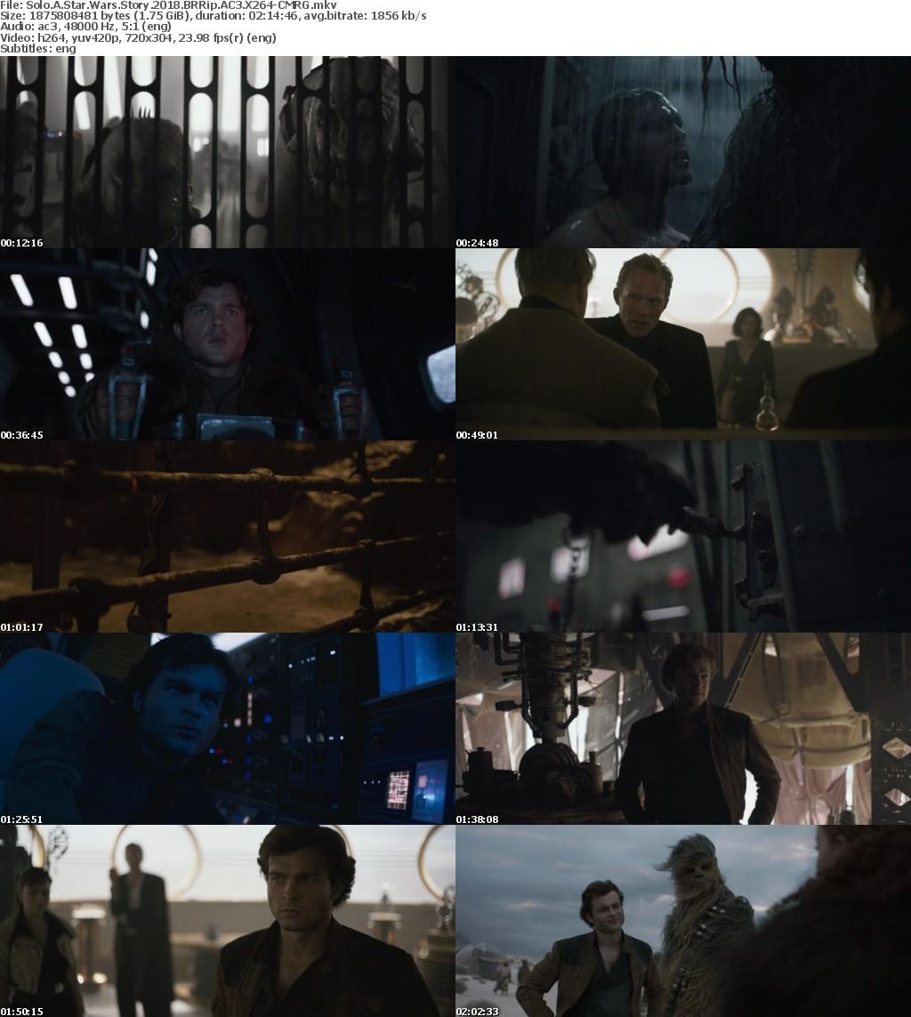 Solo A Star Wars Story (2018) BRRip AC3 X264-CMRG