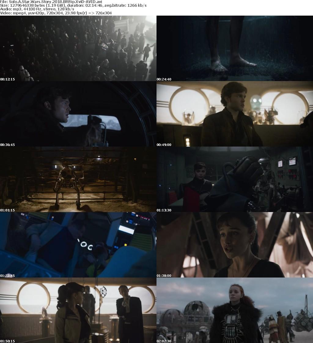 Solo A Star Wars Story (2018) BRRip XviD-AVID