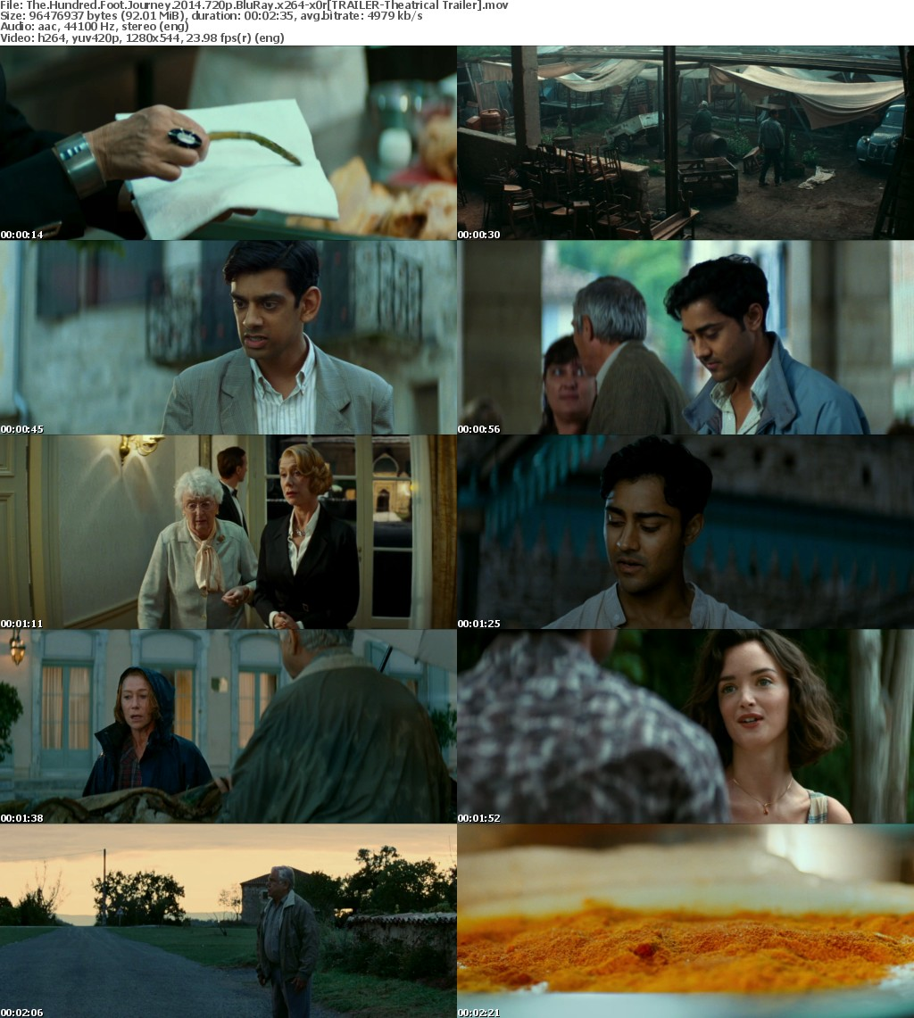 The Hundred Foot Journey 2014 720p BluRay x264-x0r