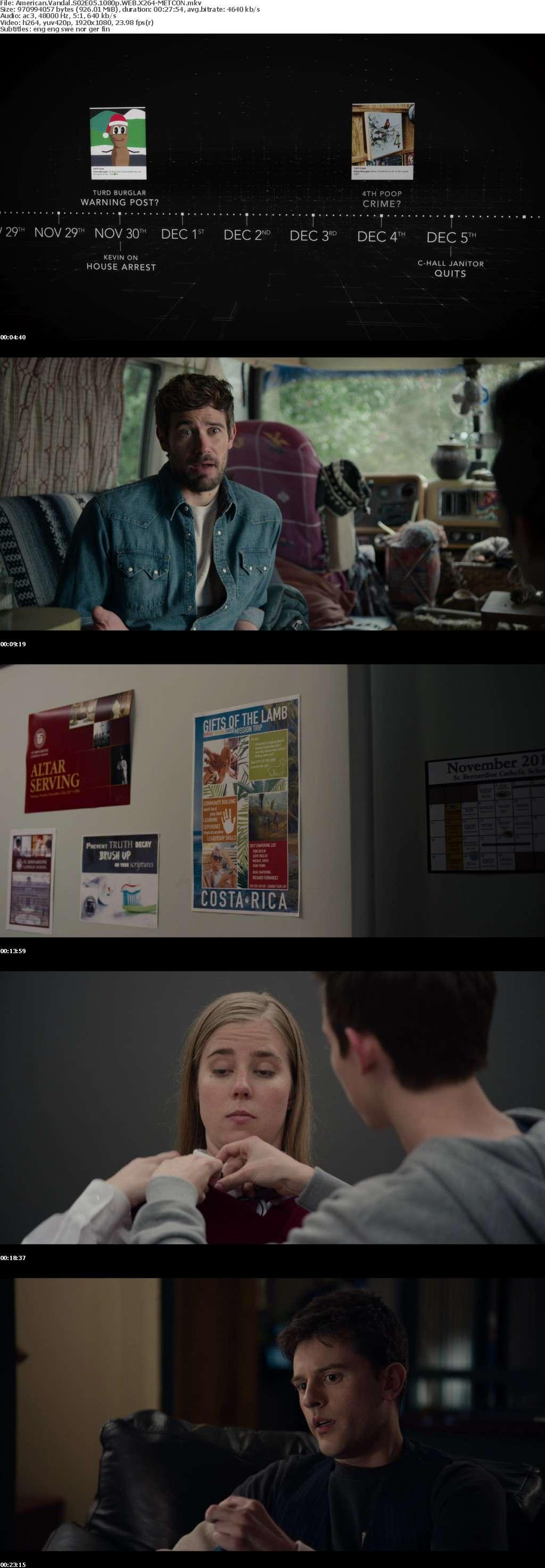 American Vandal S02E05 1080p WEB X264-METCON