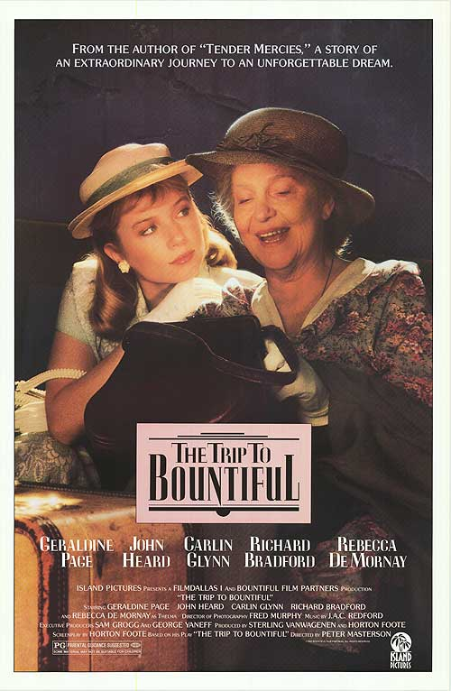The Trip to Bountiful 1985 720p BluRay x264-SiNNERS