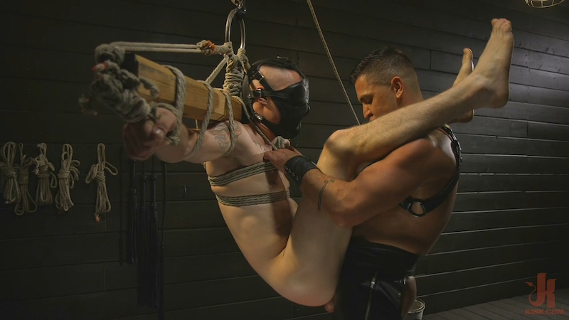 Pretty boy Zak Bishop gets trained by Master Pacifico (Bound Gods)