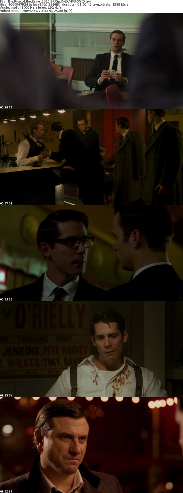 The Rise of the Krays 2015 BRRip XviD MP3-XVID