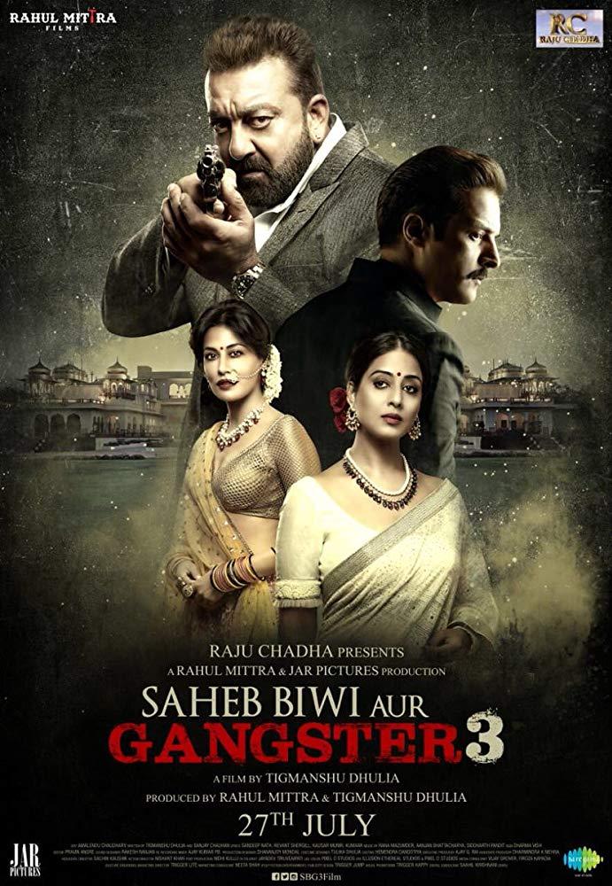Saheb Biwi Aur Gangster 3 2018 Hindi 720p WEBRip x264 AAC 2 0 - xRG