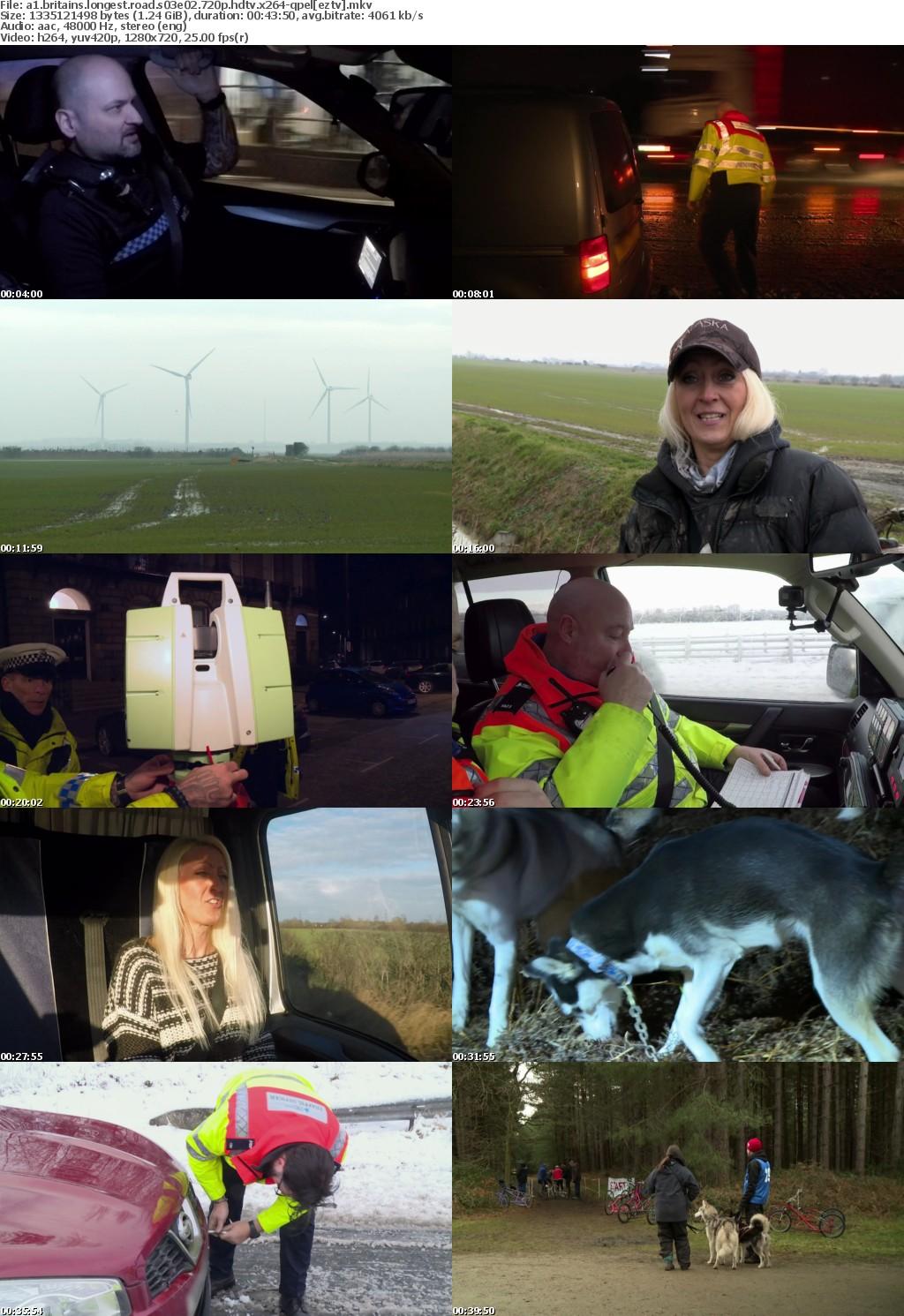 A1 Britains Longest Road S03E02 720p HDTV x264-QPEL
