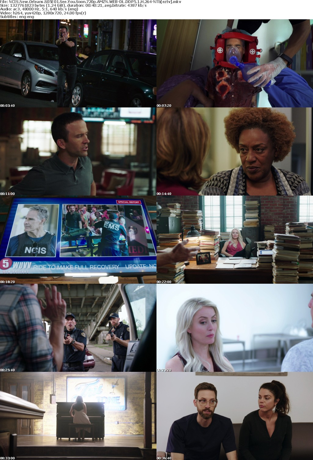 NCIS New Orleans S05E01 See You Soon 720p AMZN WEB-DL DDP5 1 H 264-NTb