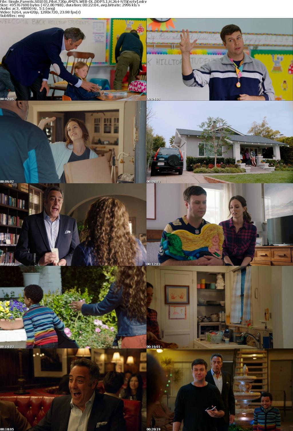 Single Parents S01E01 Pilot 720p AMZN WEB-DL DDP5 1 H 264-NTb
