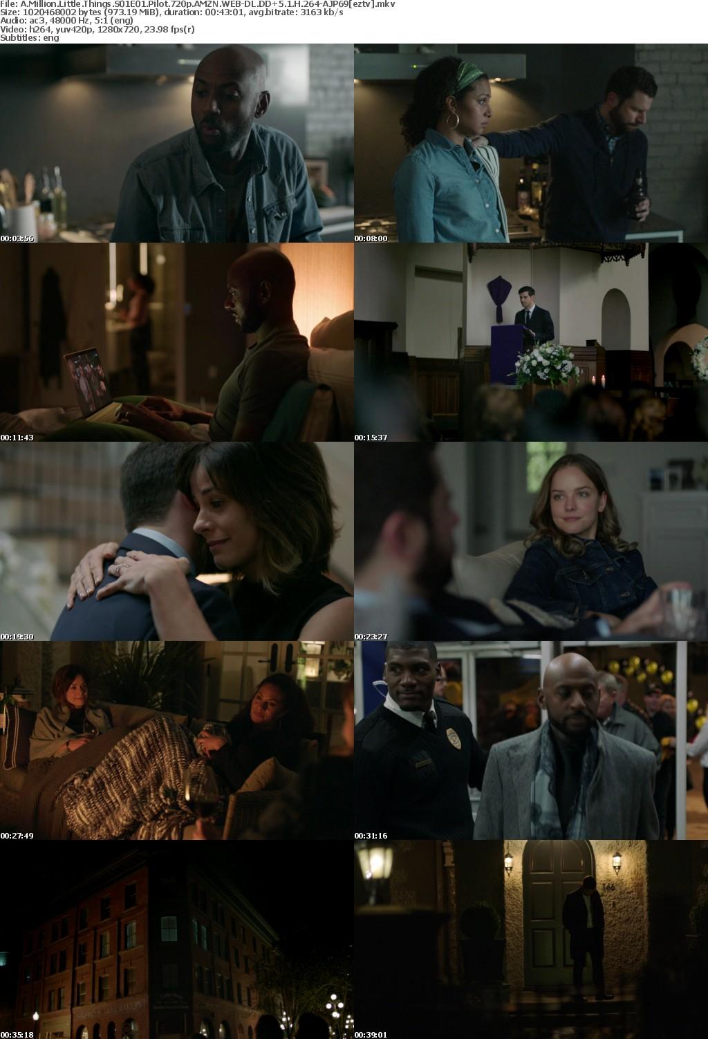 A Million Little Things S01E01 Pilot 720p AMZN WEB-DL DD+5 1 H 264-AJP69
