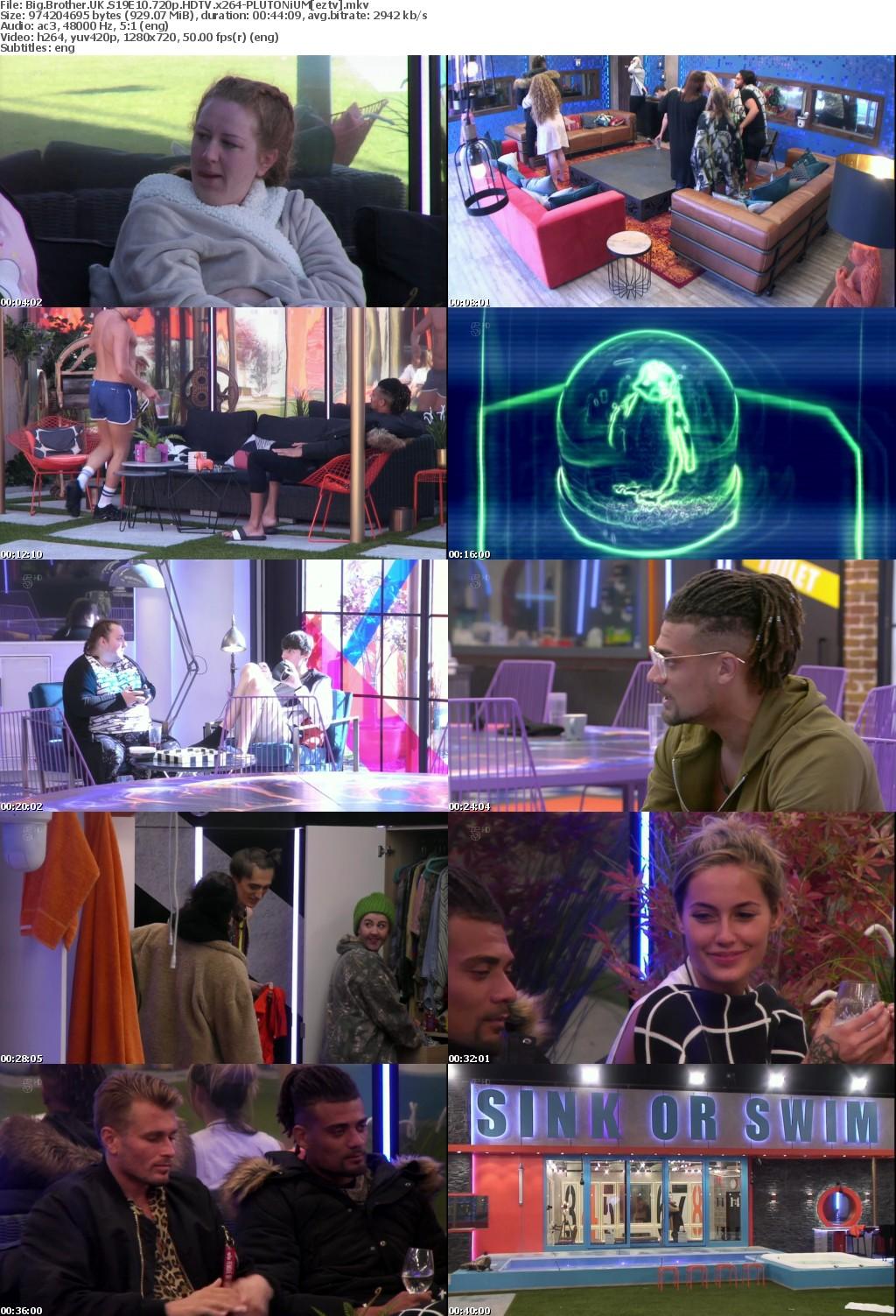 Big Brother UK S19E10 720p HDTV x264-PLUTONiUM
