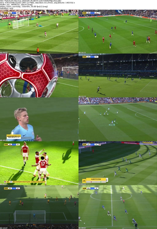 Match Of The Day 2018 09 29 HDTV x264-VERUM