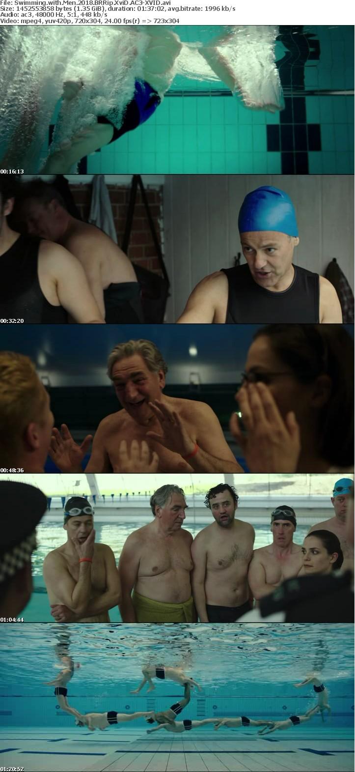 Swimming with Men 2018 BRRip XviD AC3-XVID