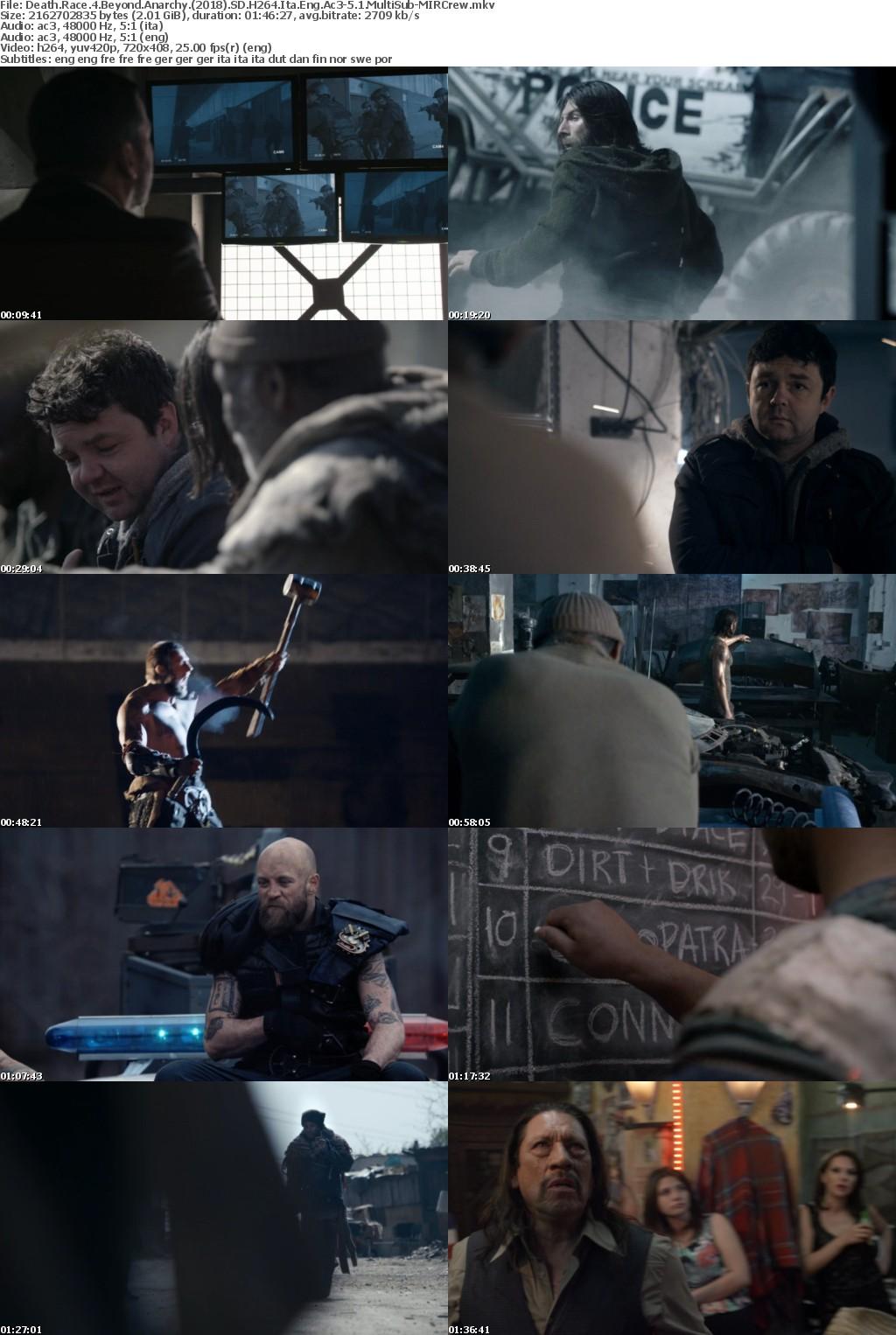 Death Race 4: Beyond Anarchy (2018) SD H264 Ita Ac3-5 1 MultiSub-MIRCrew
