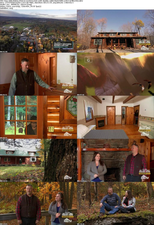 Log Cabin Living S02E12 Eastern New York Family Cabin Hunt HDTV x264-W4F