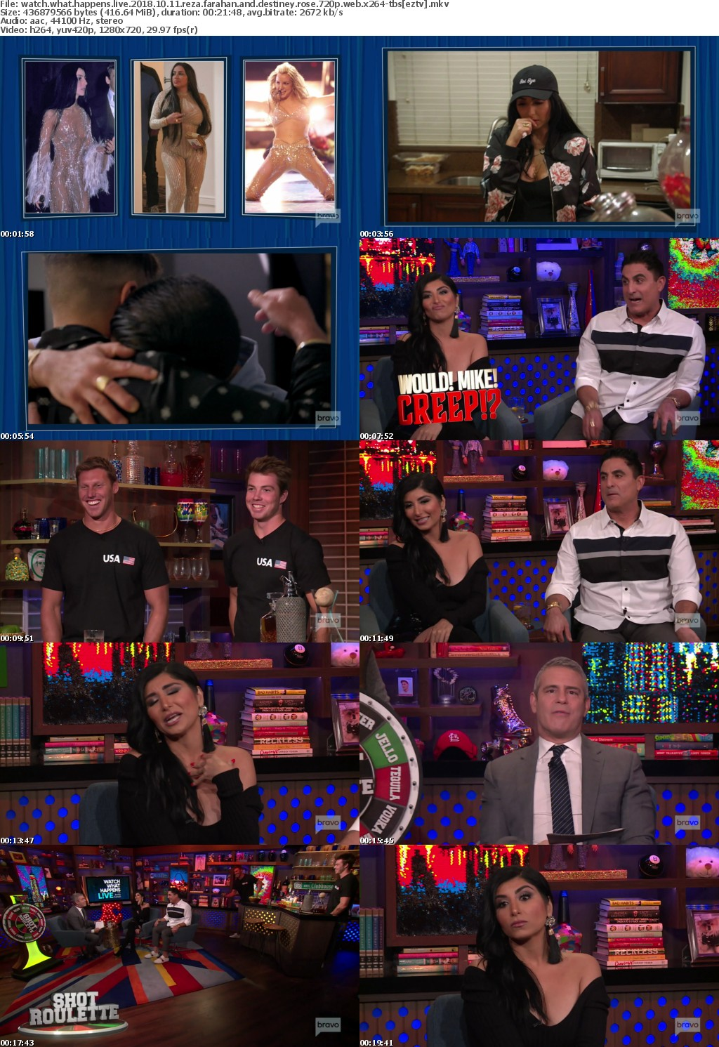 Watch What Happens Live 2018 10 11 Reza Farahan and Destiney Rose 720p WEB x264-TBS