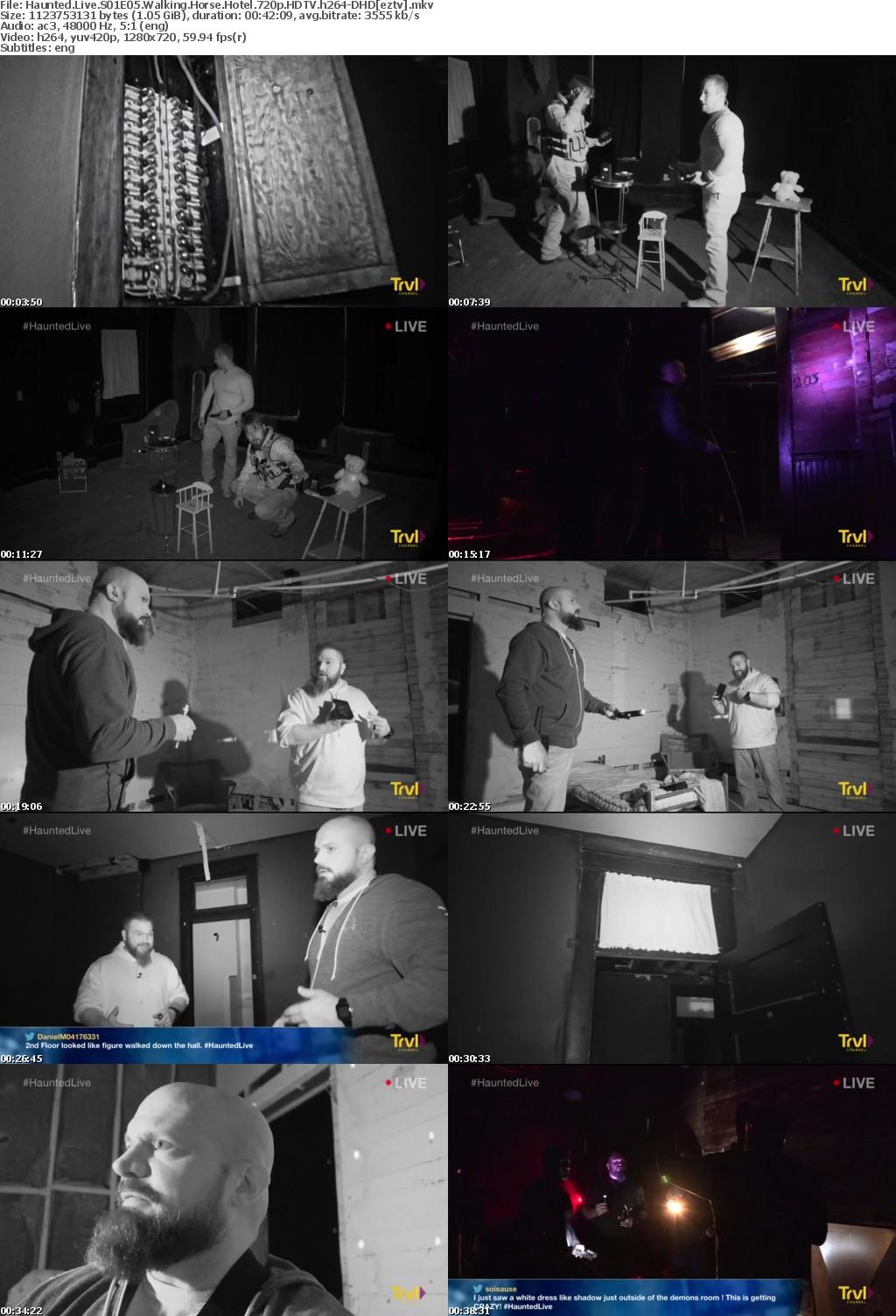 Haunted Live S01E05 Walking Horse Hotel iNTERNAL 720p HDTV h264-DHD