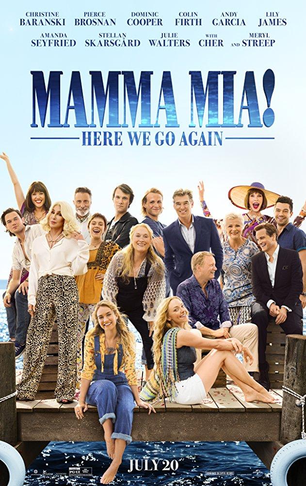 Mamma Mia Here We Go Again (2018) 720p BluRay x264 6CH 900MB ESubs - MkvHub