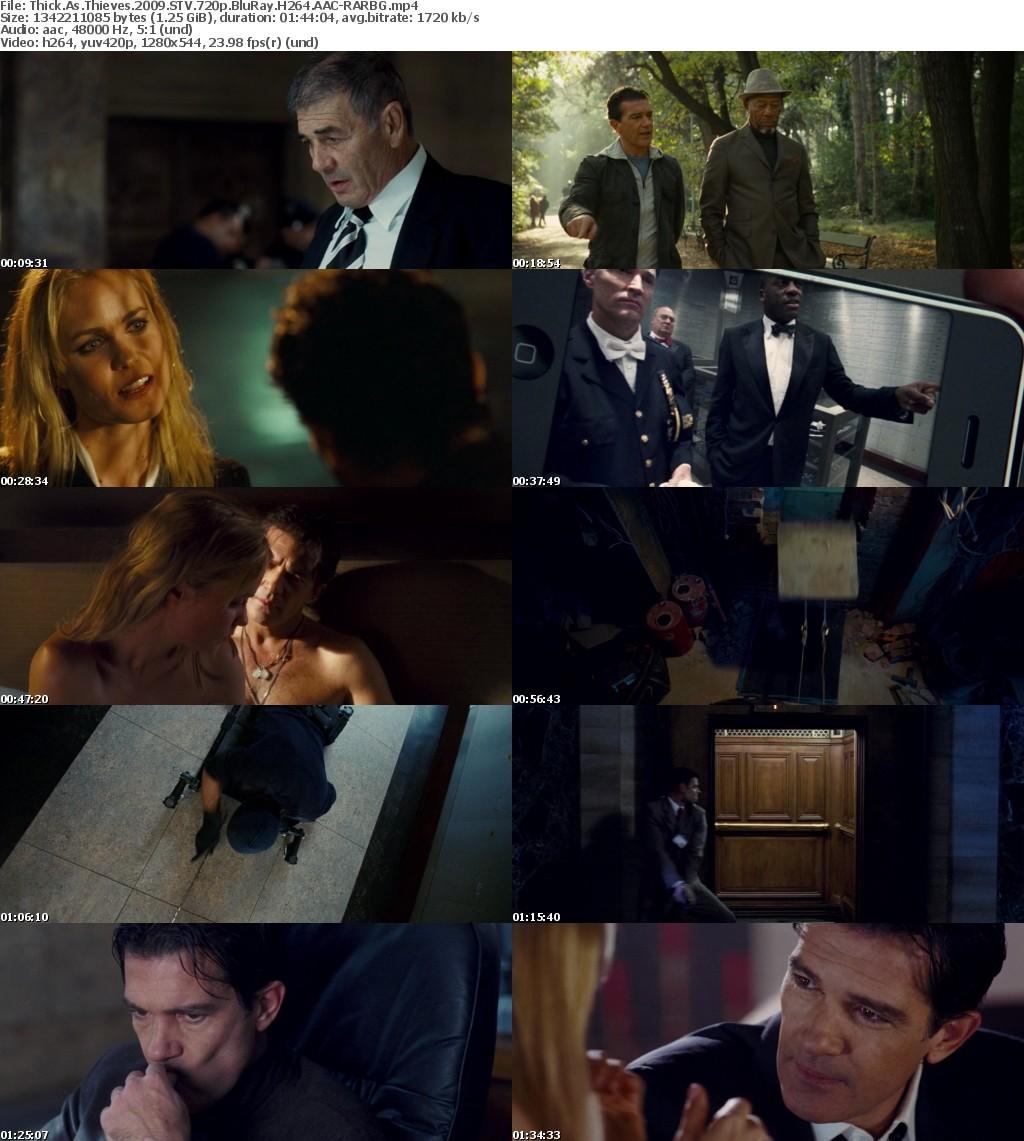 Thick As Thieves (2009) STV 720p BluRay H264 AAC-RARBG