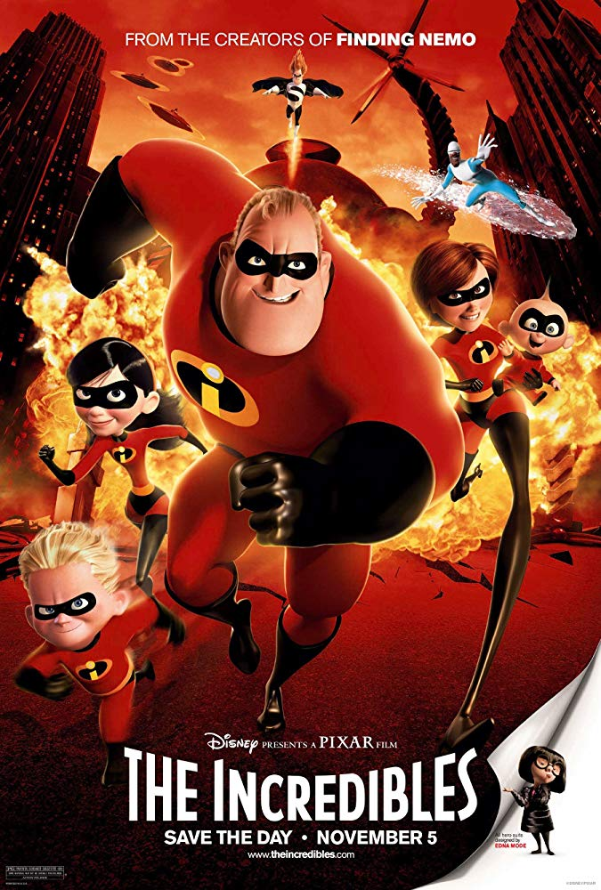 The Incredibles 2004 1080p BluRay x264 Dual Audio Hindi DD 5 1 - English 2 0 ESub MW
