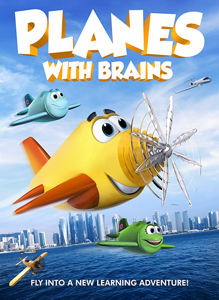 Planes with Brains 2018 HDRip XviD AC3-EVO