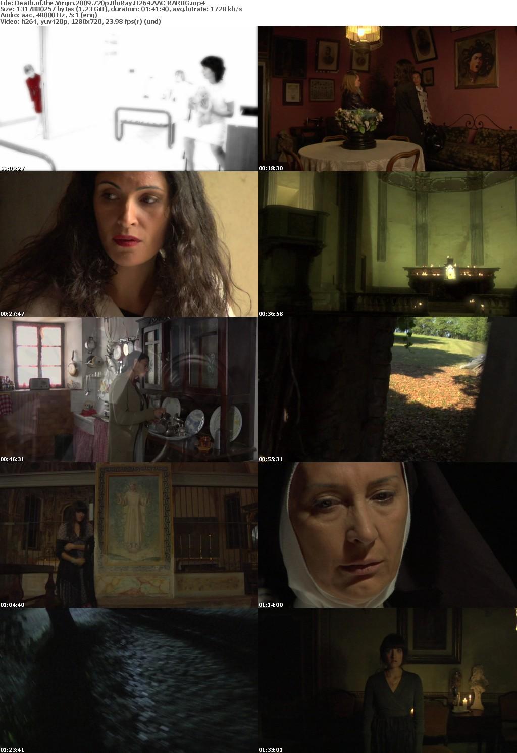 Death of the Virgin (2009) 720p BluRay H264 AAC-RARBG