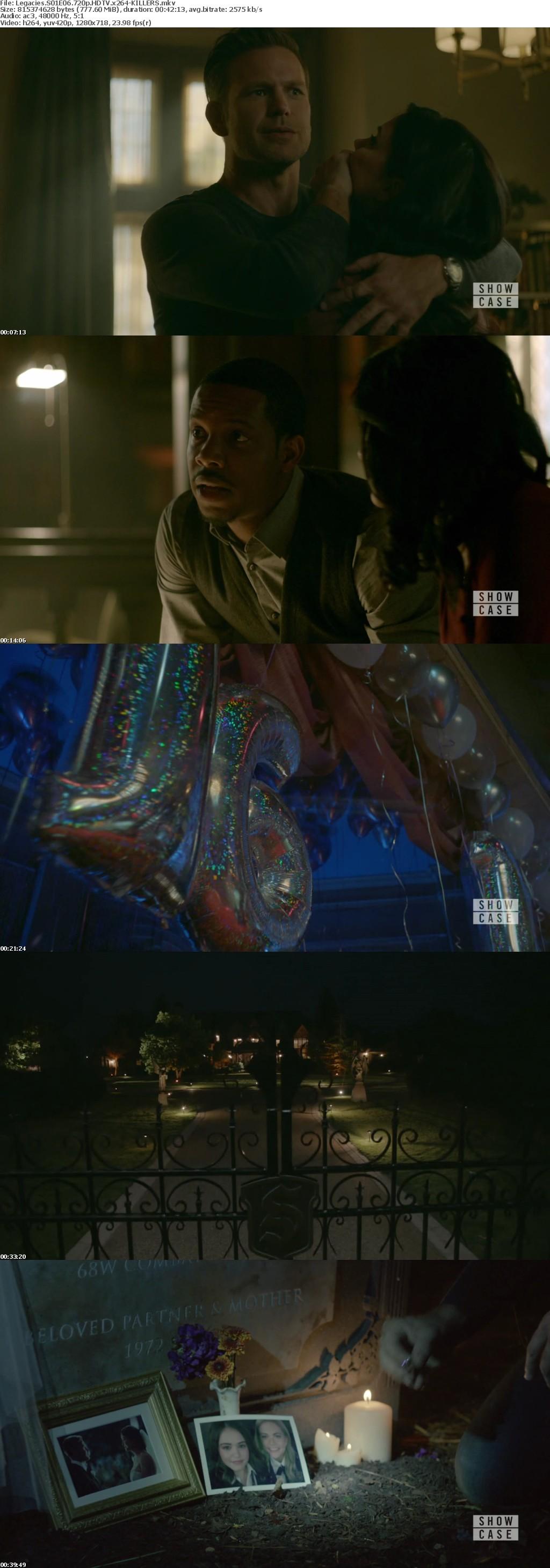 Legacies S01E06 720p HDTV x264-KILLERS