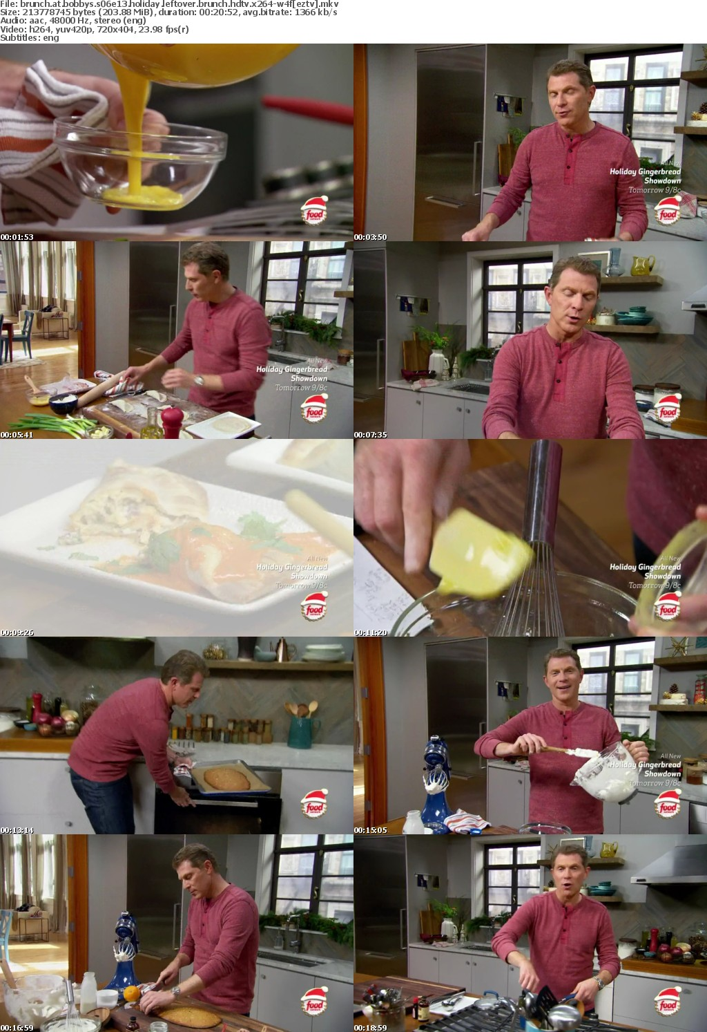 Brunch At Bobbys S06E13 Holiday Leftover Brunch HDTV x264-W4F
