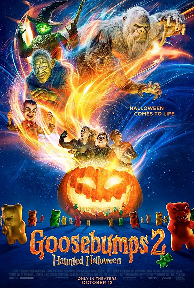 Goosebumps Haunted Halloween 2018 HDRip XviD AC3-EVO